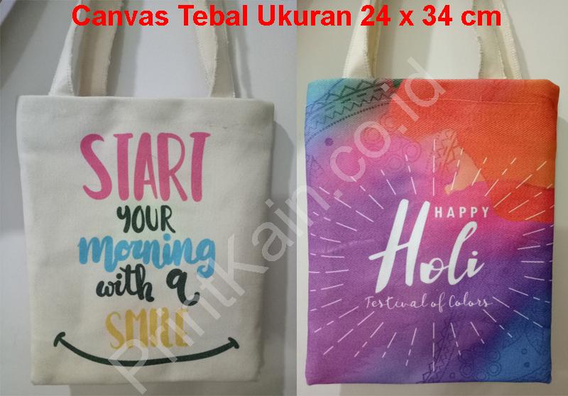 custom tote bags canvas tebal ukuran f4