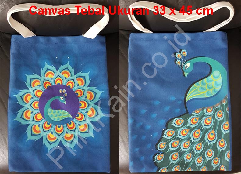 custom tote bags canvas tebal